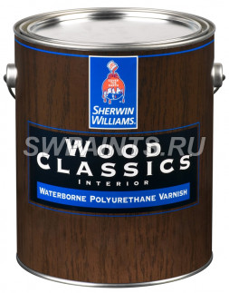 Полиуретановый лак Wood Classics Waterborne Polyurethane Varnish