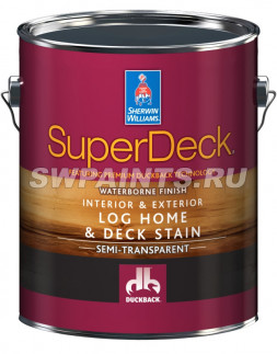 Пропитка SuperDeck Log Home & Deck Stain